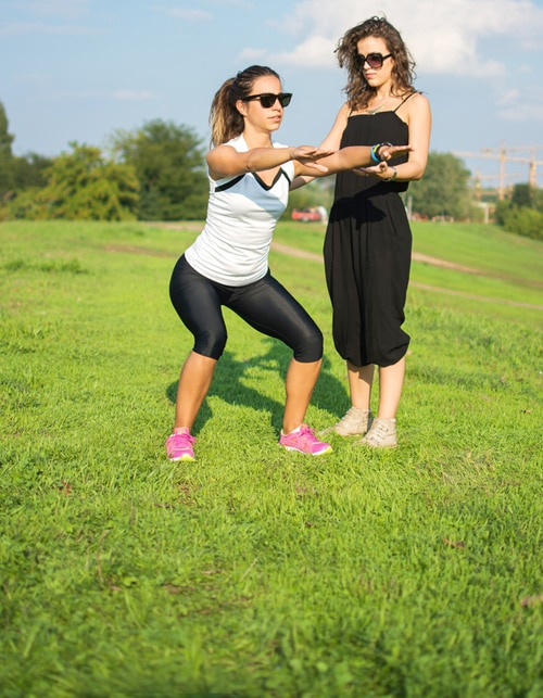 FITNESS FOR TWO - WORKOUT WITH YOUR BFF