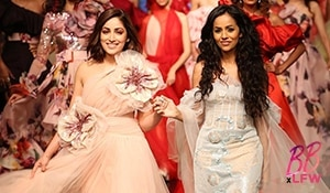 How to look like a showstopper - Yami Gautam's look at Lakmé Fashion Week decoded