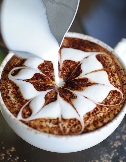 THE YUMMIEST EXAMPLES OF COFFEE ART TO WAKE YOU UP